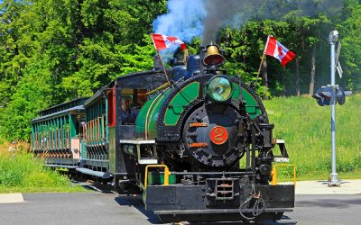 Muskoka-Heritage-Place-STEAM-TRAIN